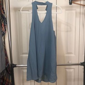 Key hole shift dress